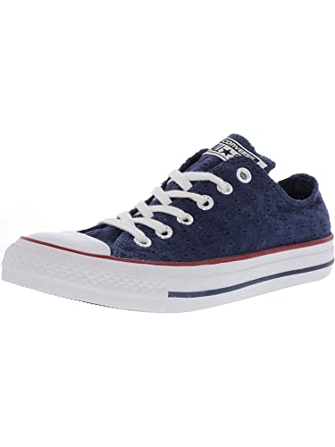 Buy Converse Chuck Taylor All Star Eyelet Stripe Ox Navy ...