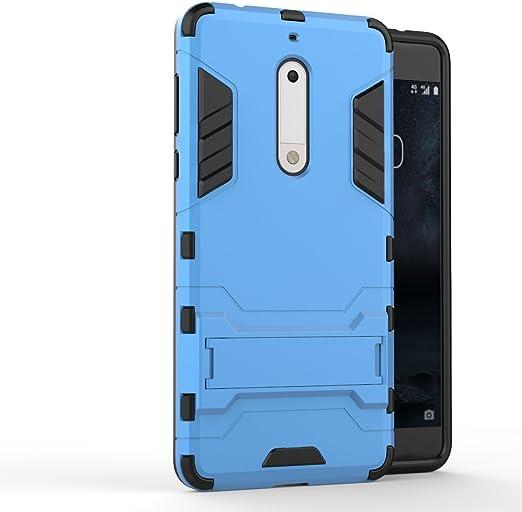 Ququcheng Funda Nokia 5,Armor y Absorción de Choque Case+Pantalla ...