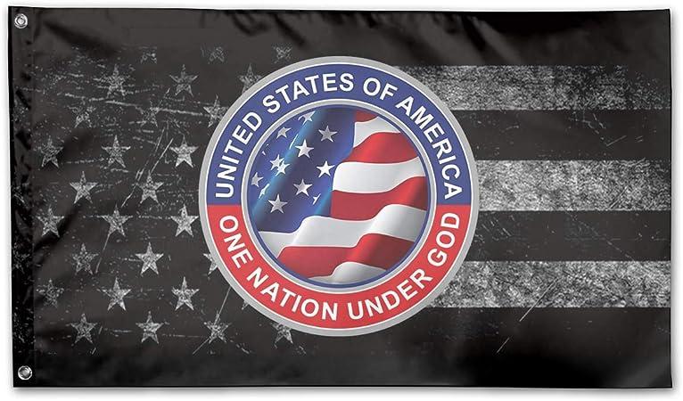 One Nation Under God Flag QNK320F Garden and House Flag