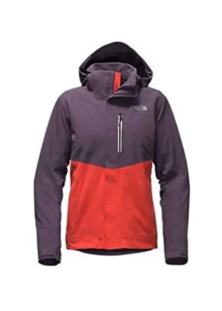 9a6f84fc8af The North Face Women Apex Flex GTX Insulated Jacket Dark Eggplant Fire  Brick Red Large