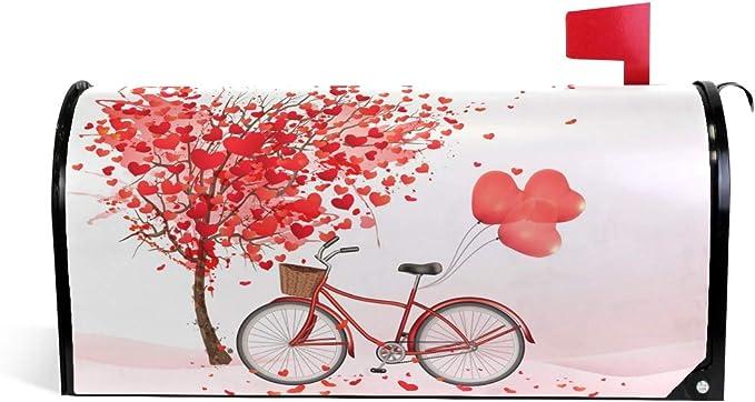 CPYang - Funda magnética para buzón de Correo, diseño de árbol de San Valentín: Amazon.es: Jardín