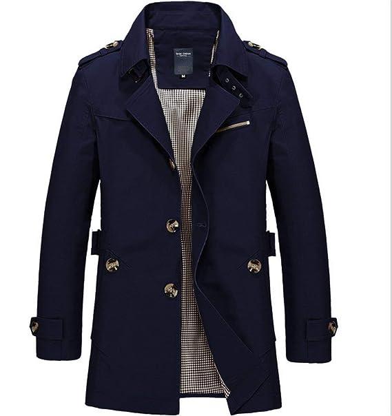 Hombres Chaqueta De Invierno Hombres Hombres Traje Niños Long Hombres Jack Casual Mode De Marca Abrigo De Lana Parka Chaqueta Cálida Gabardina Elegante: ...