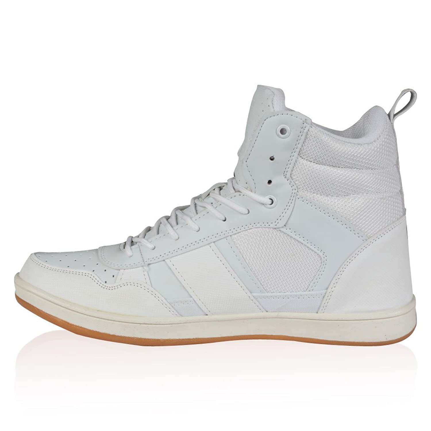 Rawcraft Cabril Mens Designer Trainer Boots  White UK11 Amazoncouk  Shoes  Bags