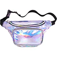 Veckle Waist Fanny Holographic Pack for Women