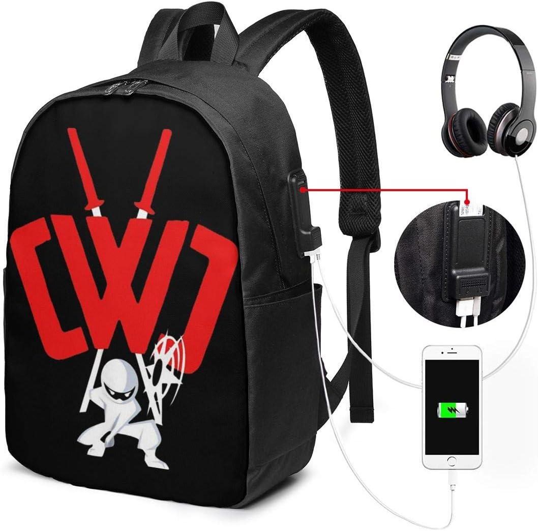 Amazon.com: CWC Chad Wild Clay Ninja USB Backpack Carry On ...