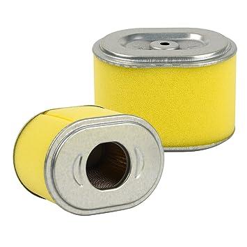 2 filtros de aire de repuesto OuyFilters para motores HONDA GX140 GX160 GX200 5 HP 5.5 HP 6.5 HP
