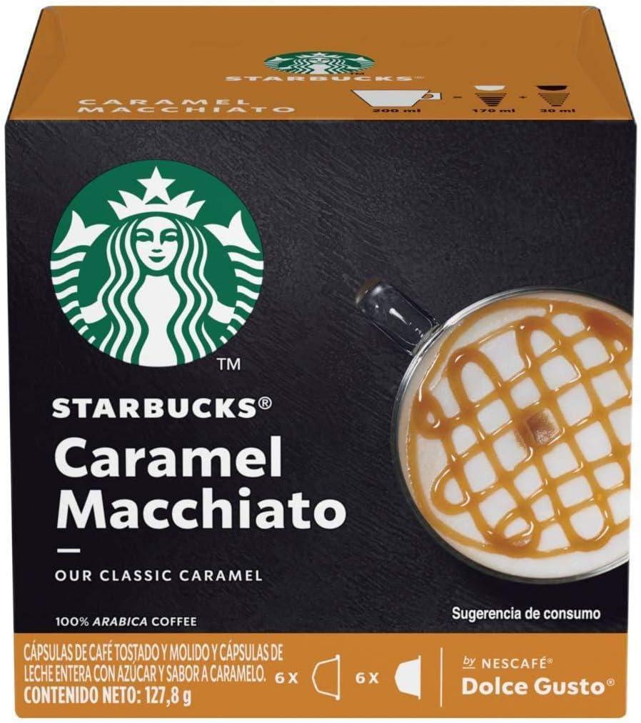 Café em Cápsula, Starbucks, Caramel Macchiato