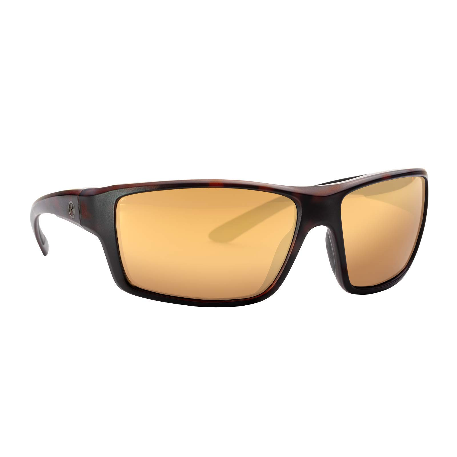 Magpul Summit Sunglasses Frame/Bronze Lens with Gold Mirror, Polarized, Tortoise, Bronze with Gold Mirror by Magpul