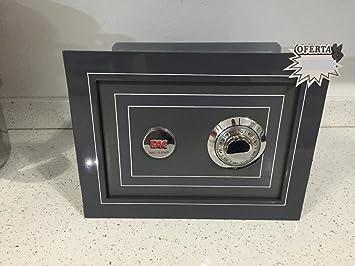 FAC Seguridad 2081 A caja fuerte empotrable ruleta y de doble perno: Amazon.es: Bricolaje y herramientas