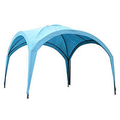 Outsunny 10' x 10' Outdoor Patio Portable Dome Canopy Tent Cover - Blue: Garden & Outdoor