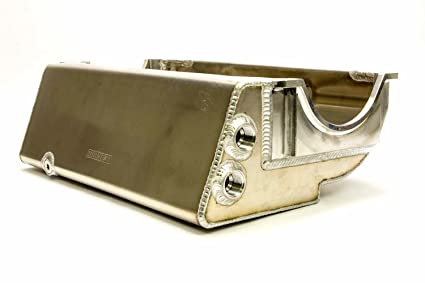 Moroso 21552 Oil Pan (SBC Dry Sump Sprint Car Dart/Brodix)