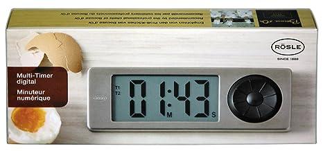 Rösle Multi de temporizador digital Pantalla magnético reloj digital reloj inkl. Pilas