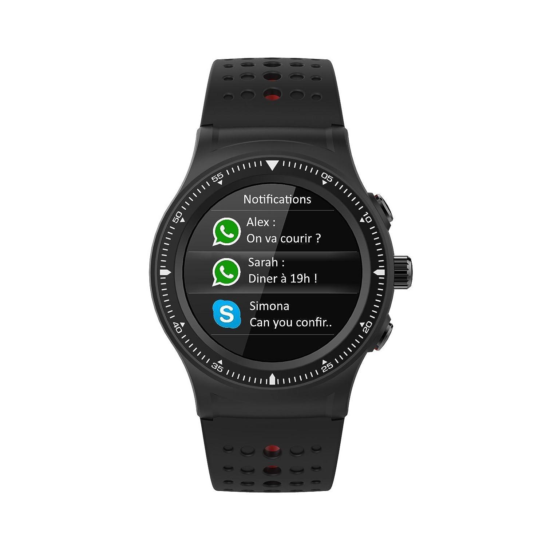 wee Plug Explorer reloj inteligente/rastreador de actividad con Chip GPS integrado unisex, Negro: Amazon.es: Deportes y aire libre