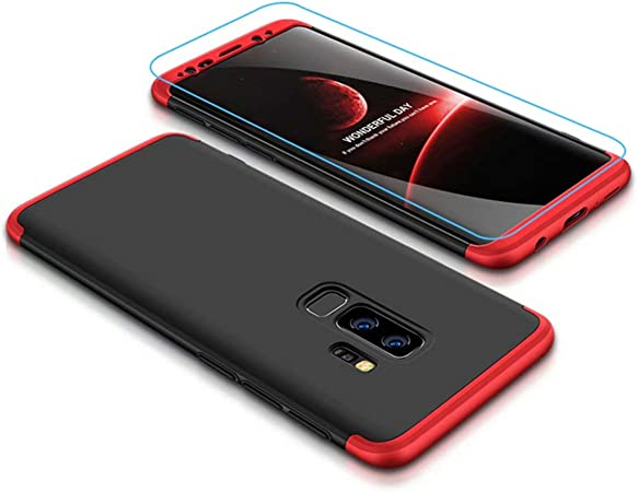 Coque Samsung Galaxy S8//S8 Plus avec Protecteur D'écran, LaiXin 360 Protection Integrale Housse Anti Rayure Étui Ultra Rigide Léger Couverture ...