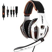 Auriculares Gaming para PS4 PC,Sades SA930 Cascos Ruido Reducción de Diademas Cerrados Profesional con Micrófono Limpio…