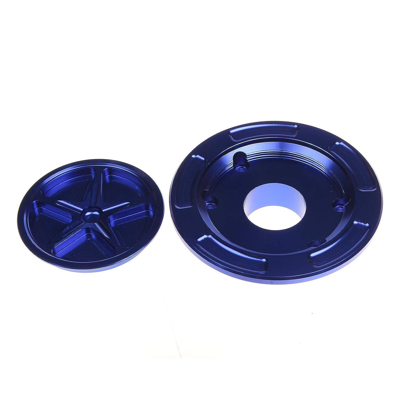 TARAZON Moto Tappo Serbatoio Carburante senza chiave per Suzuki GSXR 600 750 1000 SV 650 1000 S GSF 650 1200 Bandit blu