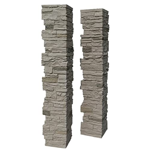 NextStone Slatestone Split Post Cover 8x8x41 Sahara - Deck Post Covers: Amazon.com