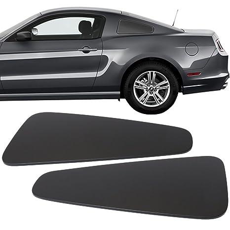 Pre pintado ventana Borrar paneles para 2010 – 2014 Ford Mustang todos los adornos | GT350