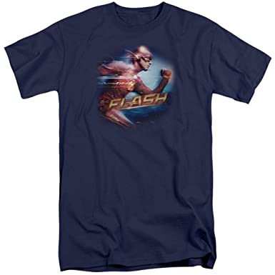 833716e74 Amazon.com: A&E Designs The Flash T-Shirt Fastest Man Long Sleeve ...
