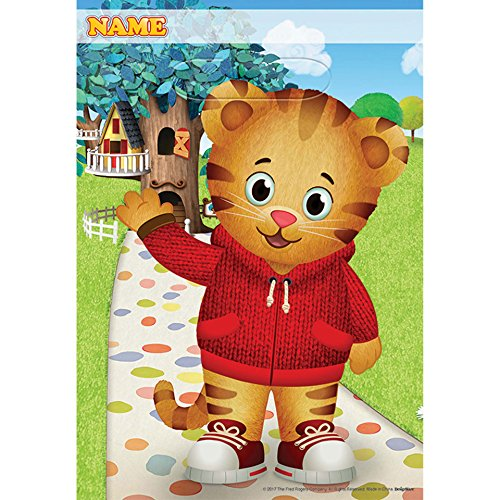 Shindigz Daniel Tiger Neighborhood Loot Bags (Candy Tiger)