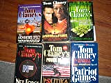 Tom Clancy 6 Books The Sum of all Fears/Splinter Cell/Power Plays/Net Force/Patriot Games/The Archmedes Effect