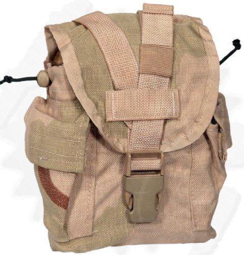 Military USGI Desert Camo 1 Quart Canteen Pouch/General Purpose Dump (1 Quart Canteen Pouch)