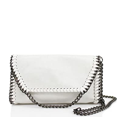 0ba27416c2eea LeahWard® Women s Chain Trim Bags Faux Leather Cross Body Bags For Women  Party Handbags CW932