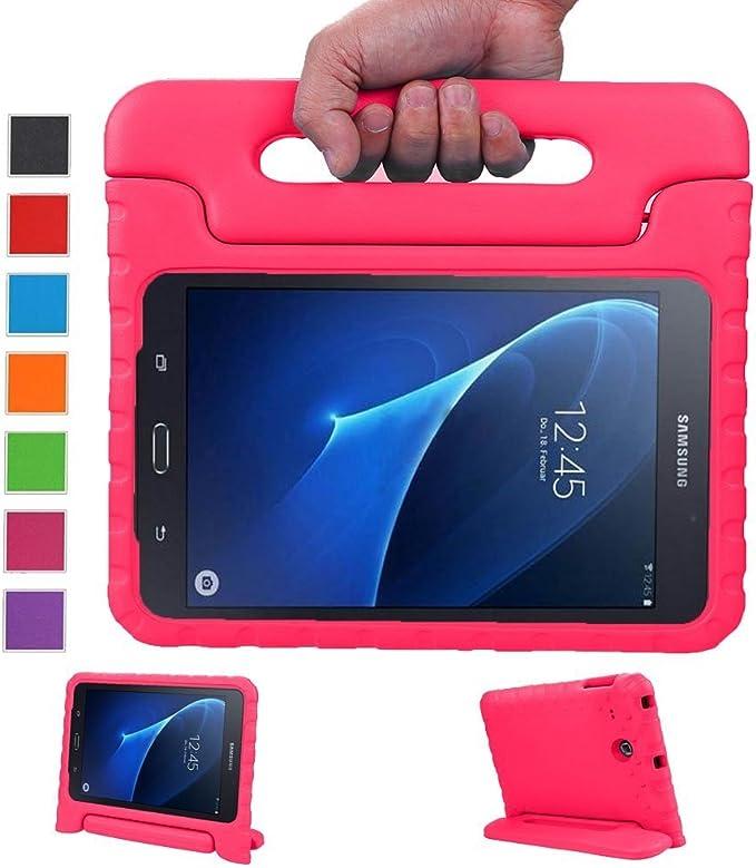 LEADSTAR Kinds Funda para Samsung Galaxy Tab A 7.0 caso niños EVA destinado a prueba de golpes cubierta estuche protector caso para Samsung Tab A SM-T280 T285 7.0 Pulgadas - Rosa: Amazon.es: