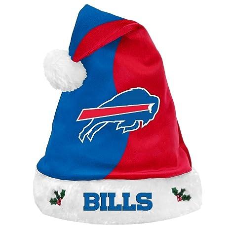 Amazon.com   NFL Football Team Logo Basic Holiday Plush Santa Hat ... 4953a0b9f