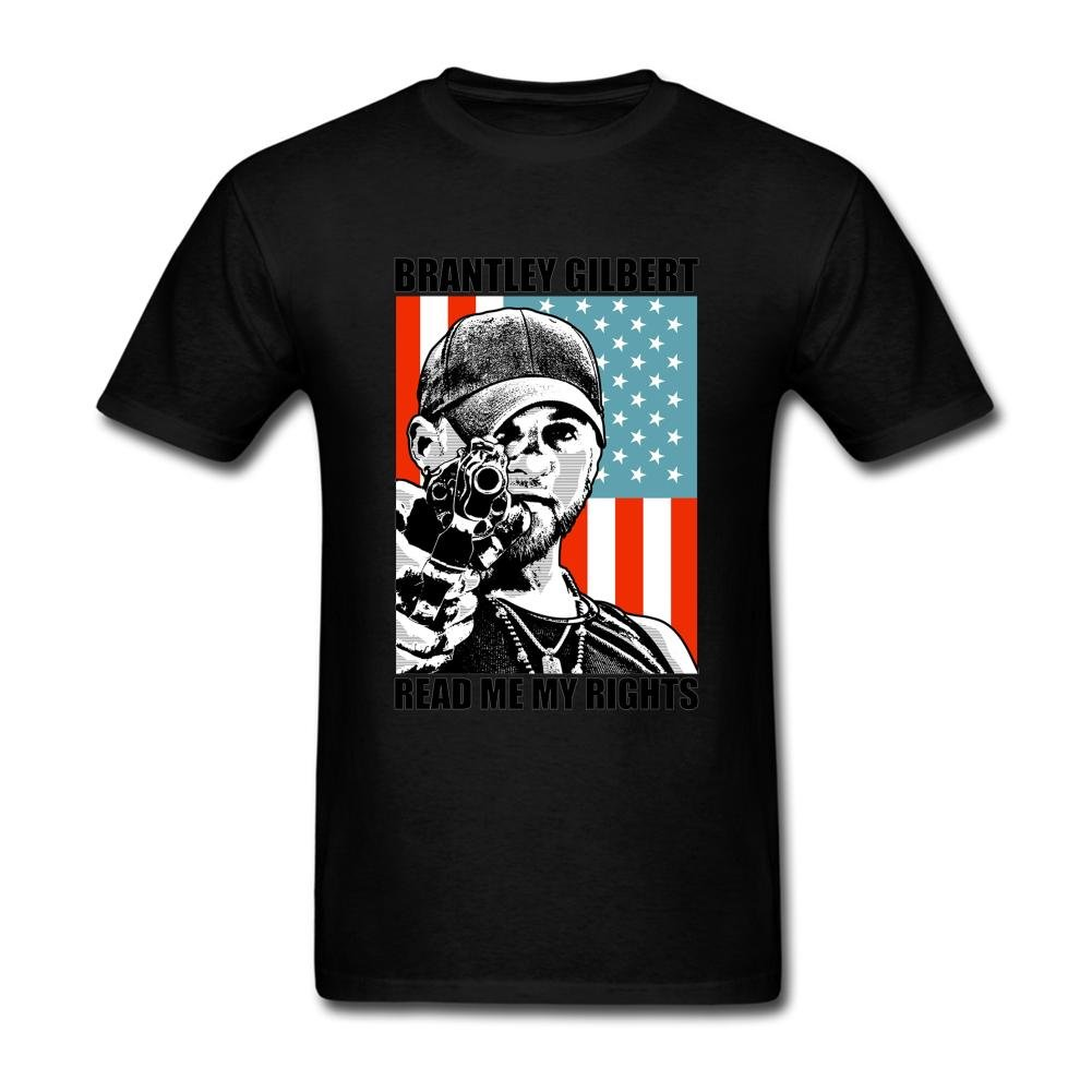 Judian Brantley Gilbert Banner Read Me My Rights T Shirt For S