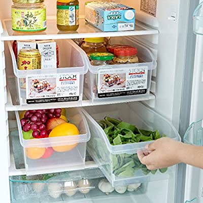 Hever plástico Nevera contenedores para casa cocina y despensa ...
