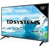 "TD Systems K50DLM8FS - Smart TV 50"" (Full HD Smart, Resolución 1920 x 1080, 3x HDMI, VGA, 2x USB, Smart TV)"