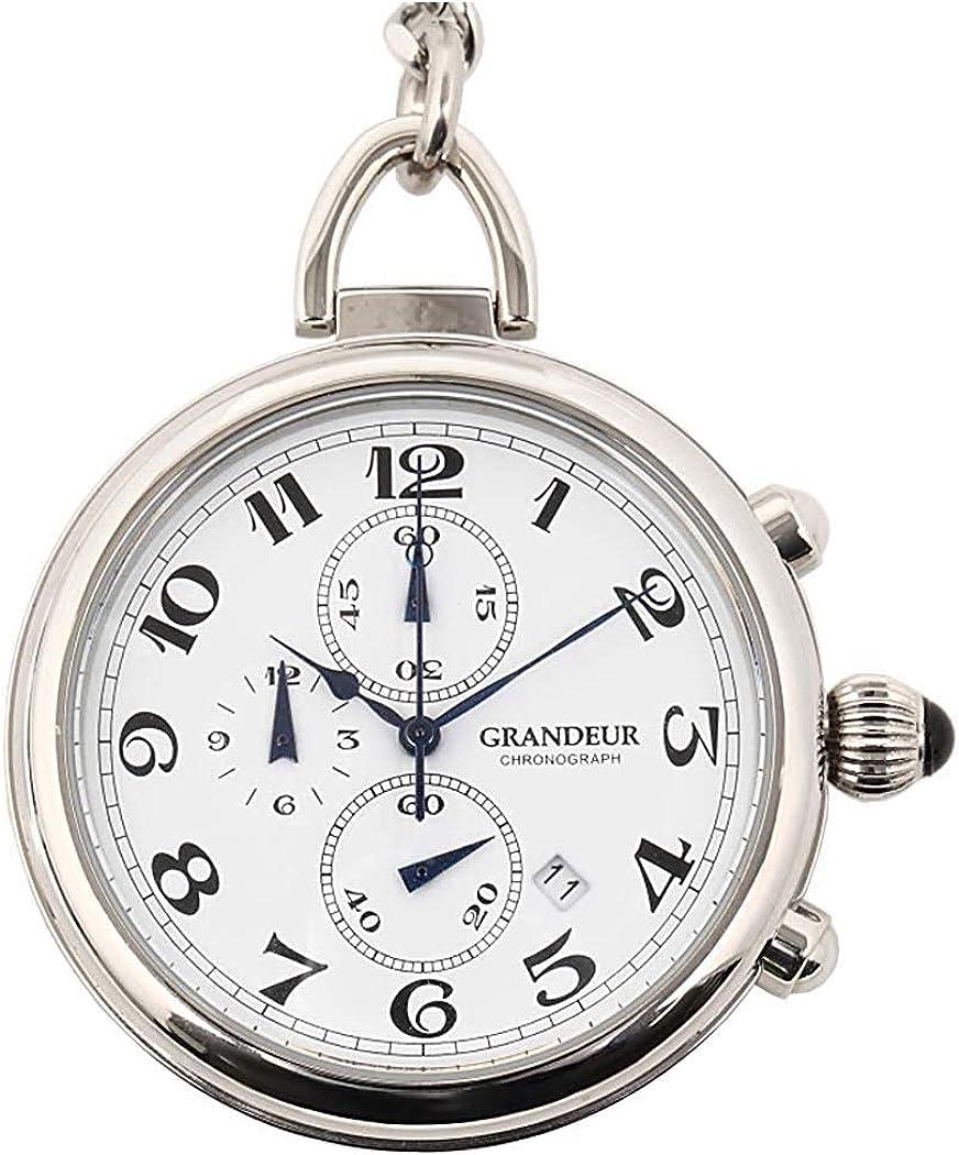 マルゼキ『GRANDEUR クロノグラフ機能付き懐中時計』
