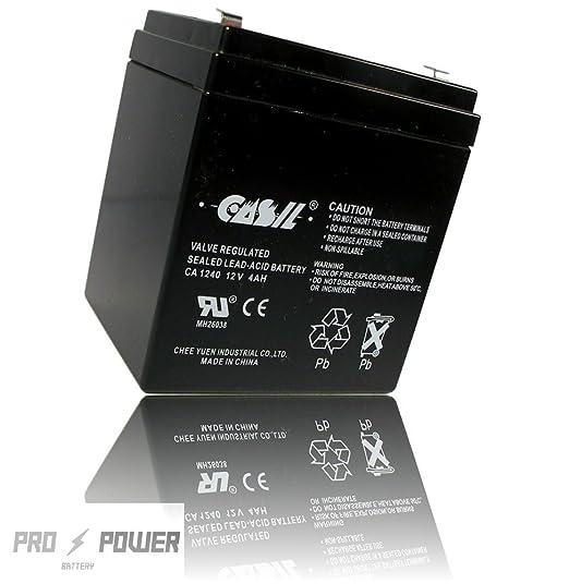 CASIL CA1240 CA-1240 12V 4AH Alarm NT1250 Upgrade Battery 2 Year Warranty