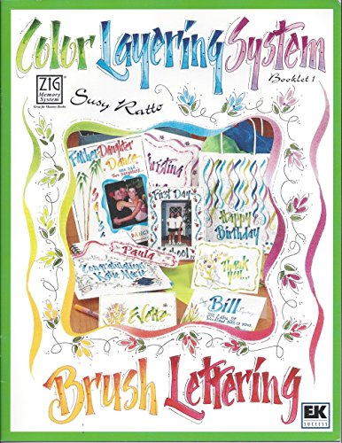 Ek Success Writer - Color Layering System Booklet 1 (Zig Memory System)