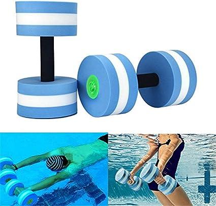 /Leau en mousse EVA de fitness pour perte de poids exercices da/érobic Halt/ères aquatiques deau pour les exercices de yoga/