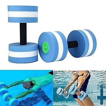 Mancuernas de espuma para ejercicio aeróbico de agua, equipo para ...