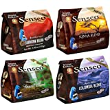 Senseo 4-Flavor Coffee Variety Pack, 16-Count Pods (Pack of 4)