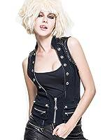 Devil Fashion - Manteau sans manche - Maillot de corps - Femme
