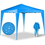 "Pop up gazebo ""Capri"" 3 x 3 m folding party tent - Garden marquee awning outdoor tent + Carry bag - 9 colours"