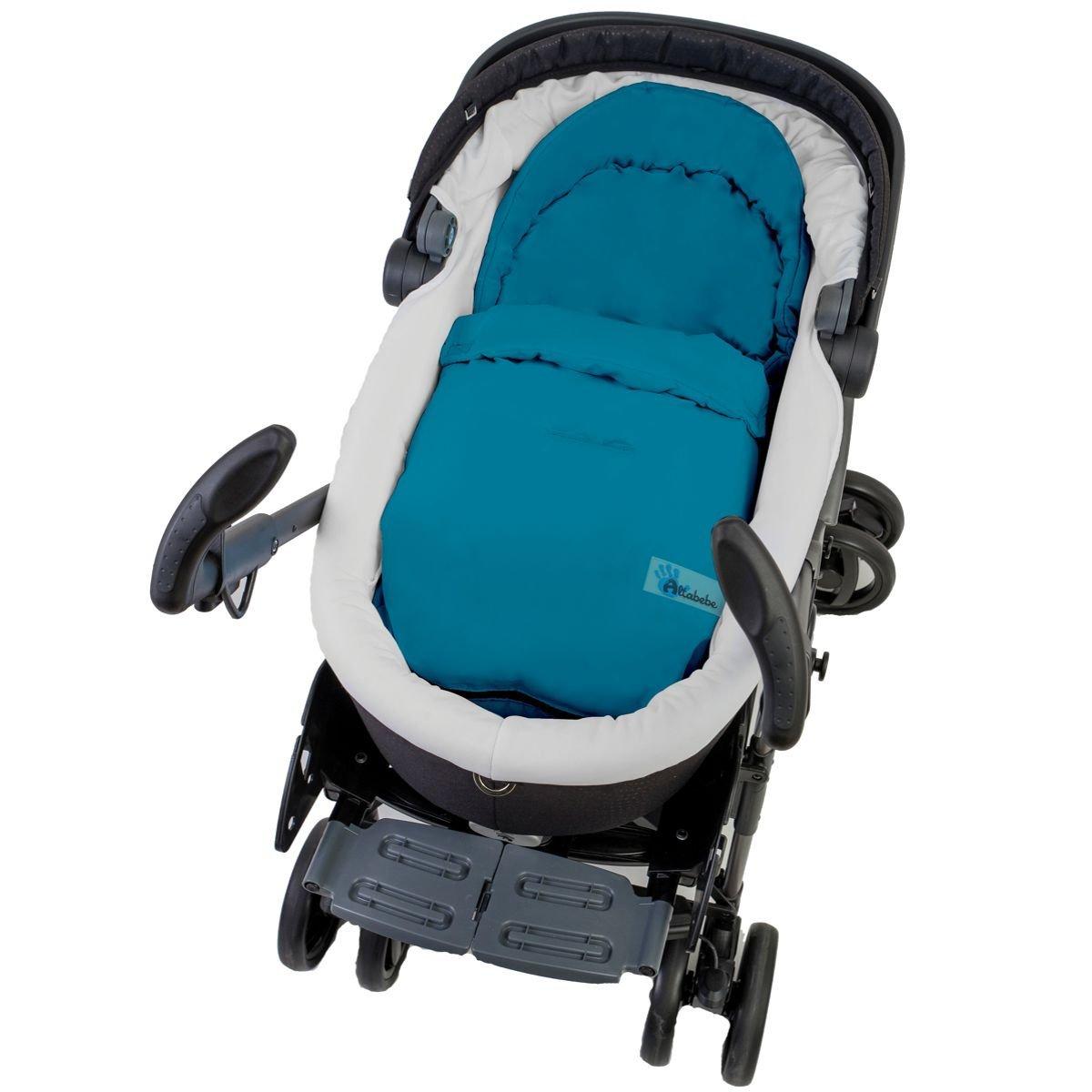 Fu/ßsack//Sommerfu/ßsack f/ür Babyschale Kinderwagenschale Kinderwagen PINK
