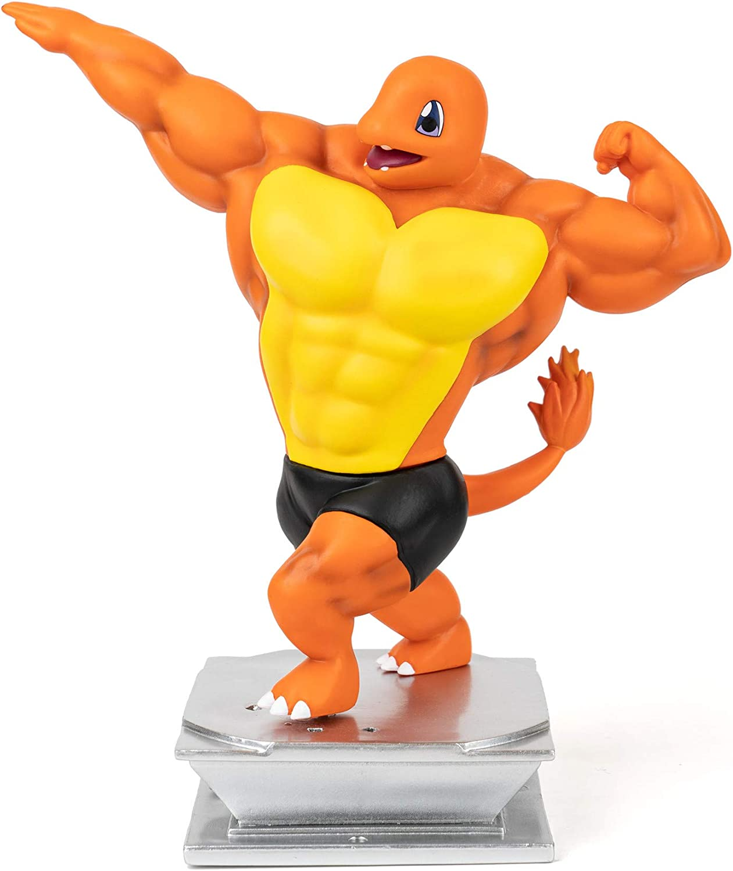 Anime Action Figure GK Charmander Figure Figurine Bodybuilding Series Collection Birthday Gifts PVC 7