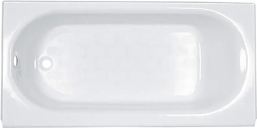 American Standard 2394202.020 Princeton Luxury Ledge Americast Apron-Front Bathtub