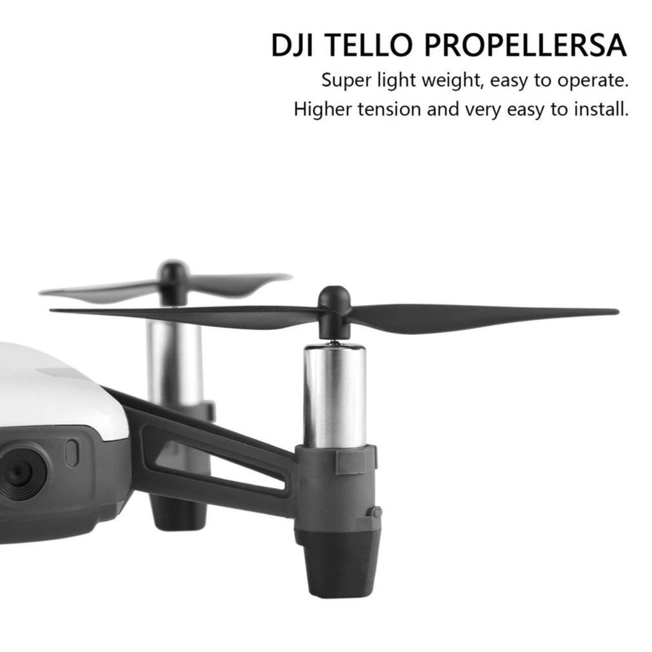 Pudincoco 4 UNIDS Hélices Drone de Liberación Rápida para dji ...