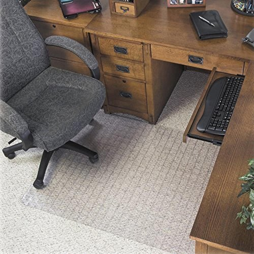 Supermat Checkered Mat (Deflect-O Corporation Supermat Checkered Low Pile Carpet Beveled Edge Chair Mat)