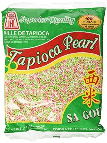 Tapioca Pearls, Tapioca Balls, Tapioca Pearls Small 14 Oz. Bags, Made From Cassava, Gluten-free (3 Pack) (Small Pearl Tapioca)