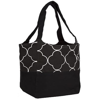 Ever Moda Quatrefoil Tote Bag good