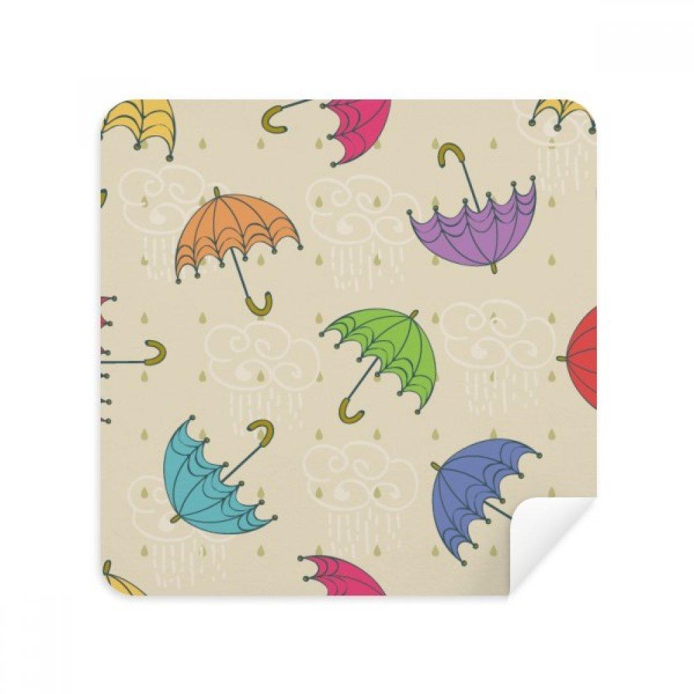 傘雨クラウド絞らSun Glassesクリーニング布電話画面クリーナースエードファブリック2pcs   B07BPYP1QH