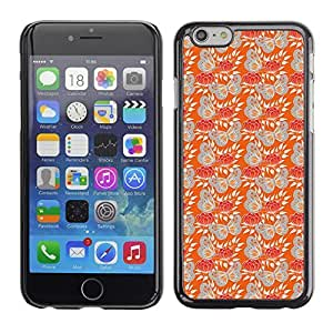 PatternViking PC Polycarbonate Aluminium Back Case Cover Apple Iphone 6 ( cute butterflies )