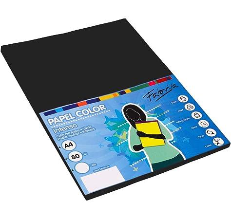 Rössler - Folio A4 100 g/m² Rossler negro: Amazon.es: Oficina y ...